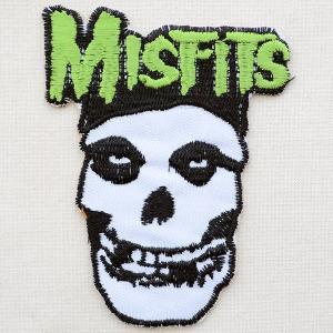 音楽ワッペン ミスフィッツ Misfits(クリムゾンゴースト) LJW-160 wappenstore