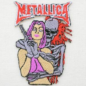 音楽ワッペン メタリカ Metallica LJW-162 wappenstore