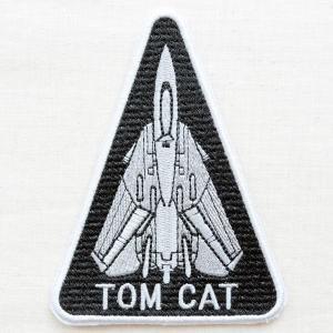 ミリタリーワッペン Tom Cat トムキャット アメリカ海軍(戦闘機/トライアングル)