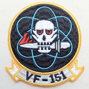 ミリタリーワッペン VF-151 アメリカ海軍(ラウンド/エンブレム)|wappenstore
