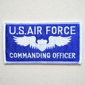ミリタリーワッペン U.S.Air Force エアフォース コマンディングオフィサー アメリカ空軍|wappenstore