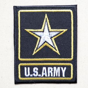 ミリタリーワッペン U.S.Army アーミー スター アメリカ陸軍 名前 作り方 MIW-026|wappenstore