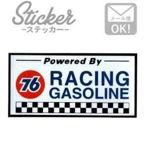 ステッカー/シール 76ルブリカンツ(レーシングガソリン) MS003 ステッカー シール カスタマイズ オリジナル バイク 車 ガソリン アメリカン|wappenstore