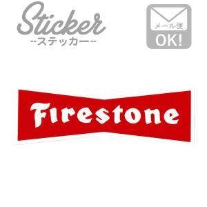 ステッカー/シール FIRESTONE MS016 ファイアストーン ステッカー シール カスタマイズ オリジナル バイク 車 ガソリン アメリカン|wappenstore