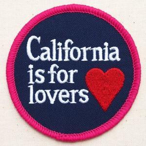 アメリカンワッペン カリフォルニアラバーズ(ハート/ラウンド) 名前 作り方 MTW-044|wappenstore