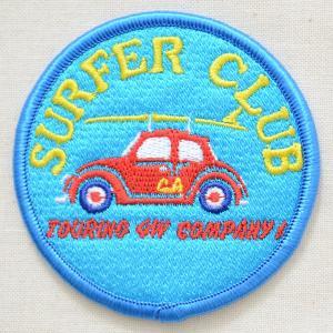 ワッペン Surfer Club サーファークラブ(車)|wappenstore