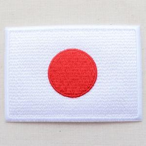 ワッペン 日本国旗(日の丸) Mサイズ|wappenstore