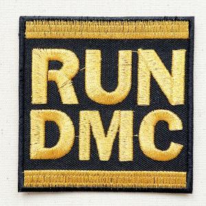 音楽ワッペン RUN DMC 名前 作り方 MTW-180|wappenstore