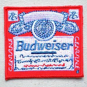 ワッペン バドワイザー Budweiser 名前 作り方 MW-012|wappenstore