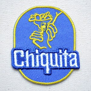 ワッペン チキータ Chiquita 名前 作り方 MW-015|wappenstore