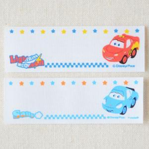 ネームラベル/名前アイロンシール ディズニー カーズ Cars(4枚組) MY250-MY55|wappenstore
