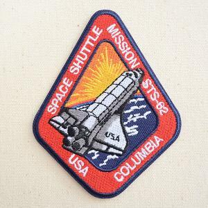 ロゴワッペン NASA ナサ(STS-062) 名前 作り方 NFC-001-062|wappenstore