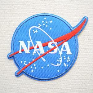 ロゴワッペン NASA ナサ エンブレム 名前 作り方 NFC-001-IA|wappenstore