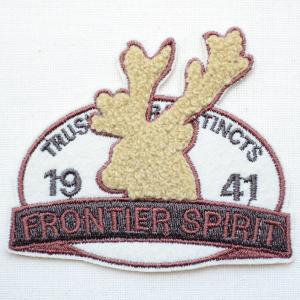ワッペン 1941 Frontier Spirit(シカ/パイル刺繍)|wappenstore
