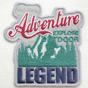 ワッペンAdventure Legend(山/アウトドア)|wappenstore