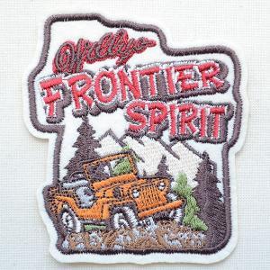 ワッペン Frontier Spirit(四駆車)|wappenstore
