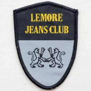 アウトレットワッペン Lemore Jeans Club エンブレム(2枚セット)|wappenstore