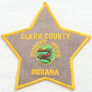 アウトレットワッペン Clark Country スター(2枚セット)|wappenstore