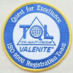 アウトレットワッペン TQL Valenite ラウンド(2枚セット)|wappenstore