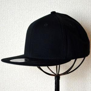 帽子/キャップ オットー Otto フラットバイザー コットンツイル(ブラック) H1038 *メール便不可|wappenstore