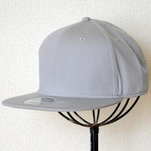 帽子/ベースボールキャップ オットー Otto フラットバイザー コットンツイル(グレー) H1038 *メール便不可|wappenstore