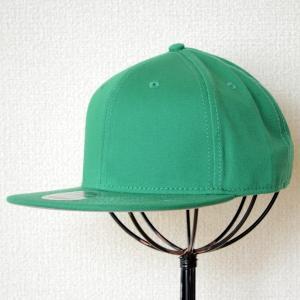 帽子/ベースボールキャップ オットー Otto フラットバイザー コットンツイル(ケリーグリーン) H1038 *メール便不可|wappenstore