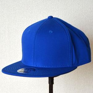 帽子/キャップ オットー Otto フラットバイザー コットンツイル(ロイヤルブルー) H1038 *メール便不可|wappenstore