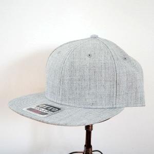 帽子/キャップ オットー Otto フラットバイザー ヘザーウールブレンド(ヘザーグレー) *メール便不可 OTTO-H1054-HG|wappenstore