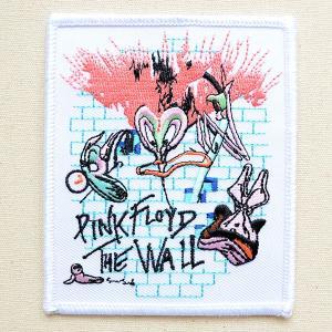 音楽ワッペン Pink Floyd/ピンク フロイド バンド ミュージック ロック 名前 作り方 P-0338|wappenstore