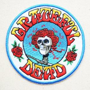 音楽ワッペン The Grateful Dead(グレイトフル・デッド) バンド ミュージック ロック 名前 作り方 P-1228|wappenstore