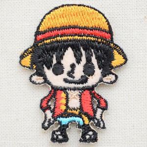 ワッペン ワンピース/One Piece(モンキー・D・ルフィ) 名前 作り方 PES020|wappenstore