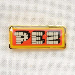 ピンバッジ PEZ ペッツ ロゴ(レッド/ゴールド) #09|wappenstore
