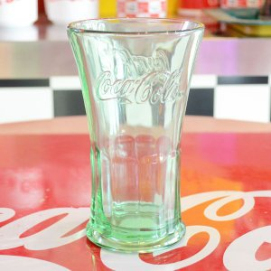 コカコーラ Coca-Cola フレアグラス/タンブラー(16oz/473ml) アメリカ製 PG-1006 *メール便不可 wappenstore
