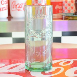コカコーラ Coca-Cola ハッチンソングラス/タンブラー(16.5oz/488ml) アメリカ製 PG-1010 *メール便不可|wappenstore