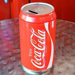コカコーラ Coca-Cola 貯金箱/缶スタイルコインバンク ブリキ製 PJ-CB02 *メール便不可|wappenstore