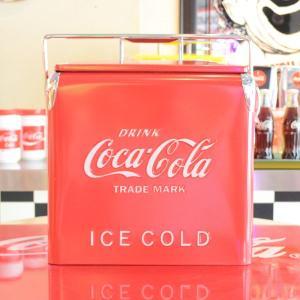 コカコーラ Coca-Cola ピクニックストレージ/クーラーボックス(レッド) PJ-CBA *メール便不可|wappenstore