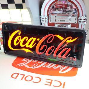 コカコーラ Coca-Cola 看板/LEDスウィープサイン PJ-LED01 *送料無料 *代引不可 wappenstore