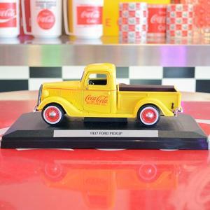 コカコーラ Coca-Cola ミニカー 1937年 フォード ピックアップトラック(1/24) *メール便不可|wappenstore