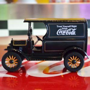 コカコーラ Coca-Cola ミニカー 1917年 フォード デリバリートラック(1/24) *メール便不可|wappenstore