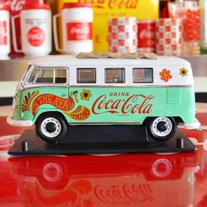 コカコーラ Coca-Cola ミニカー 1962年 フォルクスワーゲン バス(1/18) *メール便不可|wappenstore