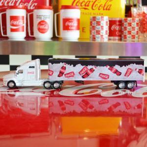 コカコーラ Coca-Cola ミニカー コークオンアイス コンボイトレーラー(1/64) *メール便不可|wappenstore