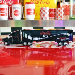 コカコーラゼロ Coca-Cola Zero ミニカー コンボイトレーラー(1/64) *メール便不可|wappenstore