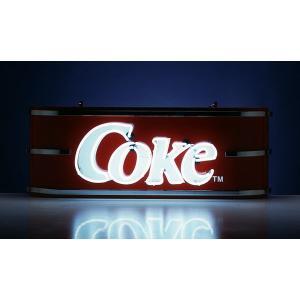 コカコーラ Coca-Cola ビルボードネオンサイン(コーク/ホワイトネオン) PJ-NS04R *送料無料 *代引不可 wappenstore