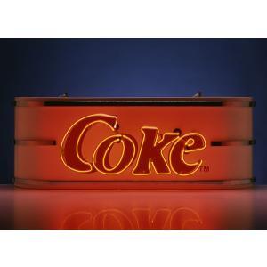 コカコーラ Coca-Cola ビルボードネオンサイン(コーク/レッドネオン) PJ-NS04W *送料無料 *代引不可 wappenstore