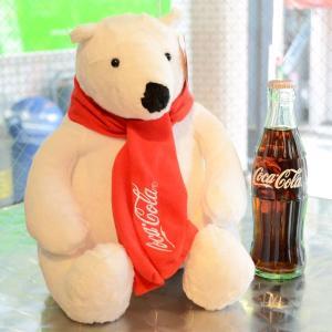 コカコーラ Coca-Cola ポーラーベアのぬいぐるみ(Mサイズ) PJ-PLB03 *メール便不可|wappenstore