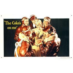 コカコーラ Coca-Cola 看板/サインプレート(フライボーイズ/43x26cm) PJ-SC04 *メール便不可|wappenstore