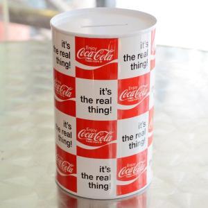 コカコーラ Coca-Cola 貯金箱/コインバンク(スモールリアル) ブリキ製 PJ-SH05 *メール便不可|wappenstore