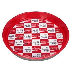 コカコーラ Coca-Cola トレイ(ラージリアル/ラウンド) PJ-SH13 *メール便不可|wappenstore