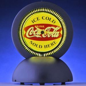 コカコーラ Coca-Cola 置き時計/スタンドネオンクロック(フィッシュデスク) PJC-DAR3 *送料無料 *代引不可|wappenstore