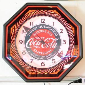 コカコーラ Coca-Cola 壁掛け時計/レトロネオンクロック PJC-R01 *送料無料 *代引不可 wappenstore